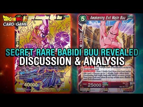 IS THIS NEW SCR GAME BREAKING?! Set 6 Babidi Buu!   DBS CCG