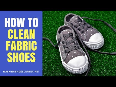 How to Clean Fabric Shoes at Home | How to Clean White Fabric Shoes Fast