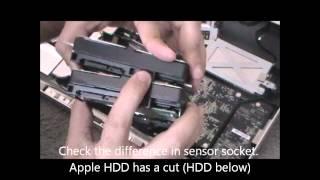 replace hard drive hdd of imac 22 i3 model same for i5 i7 models