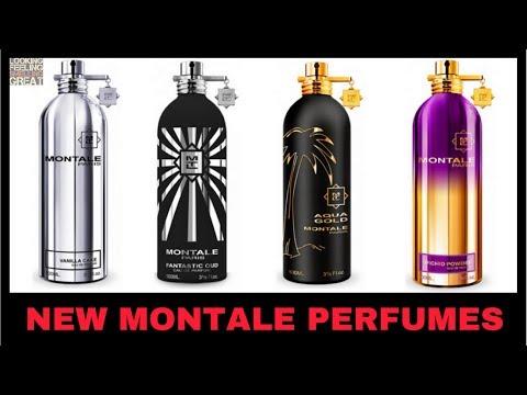 New Montale Vanilla Cake, Fantastic Oud, Aqua Gold, Orchid Powder + My Favorite Montale Perfumes