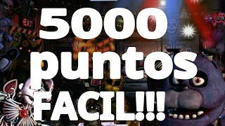 COMO CONSEGUIR 5000 PUNTOS EN ULTIMATE CUSTOM NIGHT