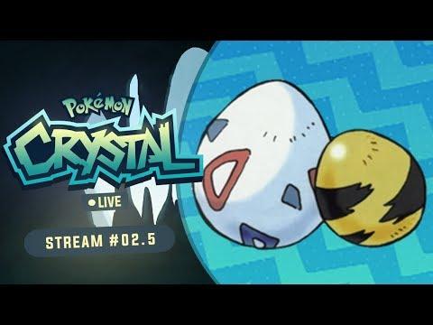 ODD EGG SHINY HUNT! | Pokemon Crystal LIVE #2.5