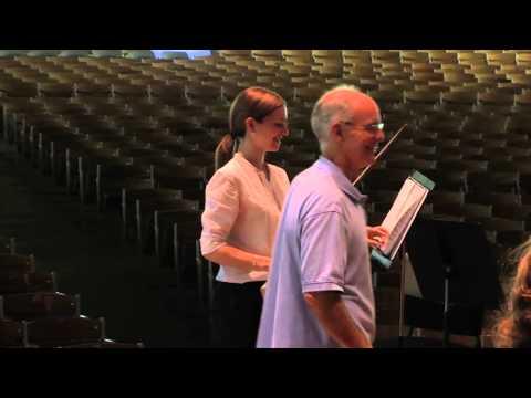 Tanglewood Music Center Violin Master Class Part 1