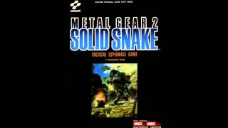 Metal Gear 2: Solid Snake (MSX) OST - Level 3 Warning