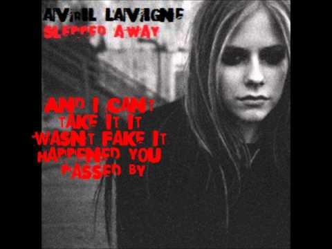 Avril Lavigne - Slipped away lyrics - YouTube