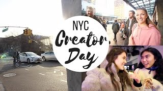 YOUTUBE SPACE NYC CREATOR DAY | Meeting EPIC Travel Vloggers | Travel Vlog #59
