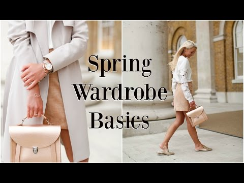Spring Wardrobe Basics   |   Highstreet & Premium   |   🌸 #FashionMumblrSpringEdit  🌸