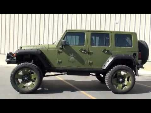 Custom Jeep Rubicon >> JEEP RUBICON TRANSFORMED BY MARSHALL MOTOART - YouTube