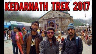 Gaurikund To Kedarnath Trek 2017 | Fastest Char Dham Ride | Day 5 |