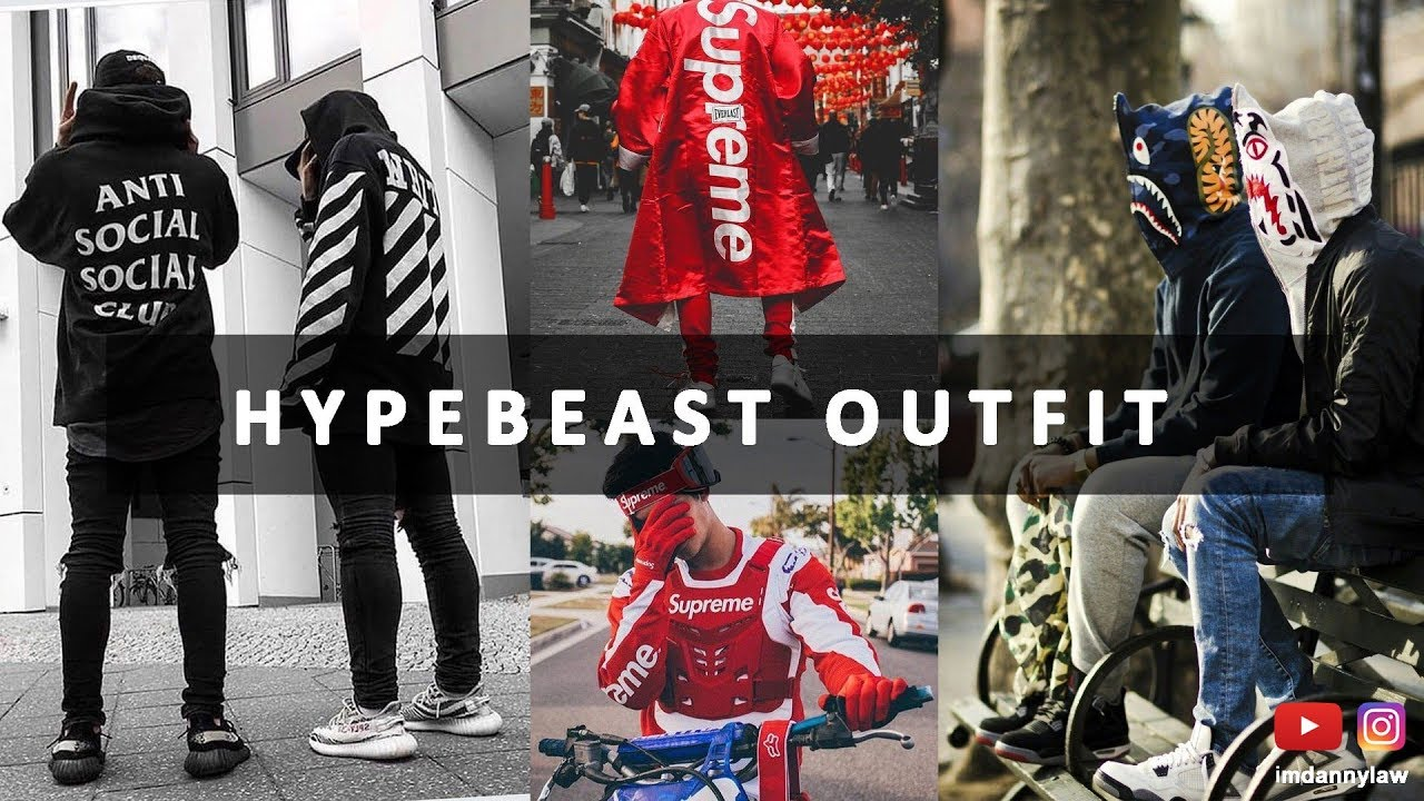 HOW TO DRESS LIKE A HYPEBEAST OUTFIT  STREETWEAR OUTFIT  INSTAGRAM  HYPEBEAST