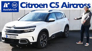 2020 Citroën C5 Aircross Shine BlueHDI 180 EAT8 - Kaufberatung, Test deutsch, Review, Fahrbericht