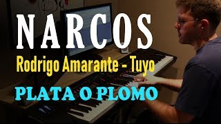 Narcos Theme (Netflix Original Series Soundtrack) // Tuyo - Rodrigo Amarante - Piano Cover