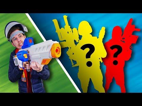 NERF Mystery Class Challenge!