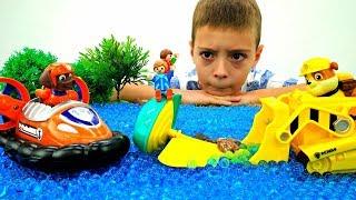 Мультик с игрушками Щенячий патруль: случай на озере