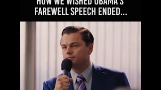 HOW WE WISH OBAMA'S FAREWELL SPEECH ENDED ~ #iaintleavin! Free HD Video
