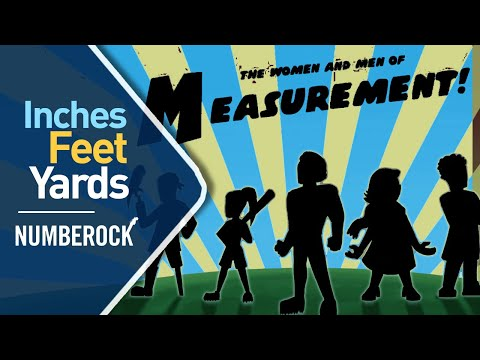 Inches, Feet and Yards Song ⋆ Measurement by NUMBEROCK