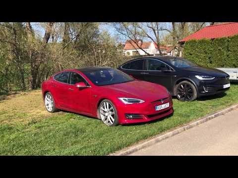 #66 Tesla Model S a X Srovnání velikostí | Teslacek