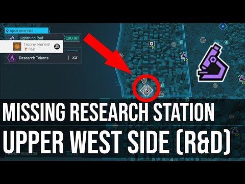 Missing Research Station Upper West Side (R&D Trophy) - Marvel's Spider-Man PS4