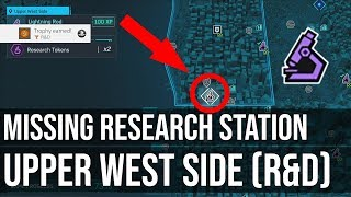 Missing Research Station Upper West Side (R&D Trophy) - Marvel's Spider-Man PS4