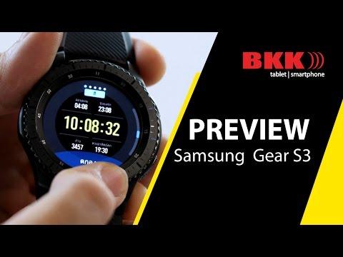 รีวิว Samsung Gear S3 frontier