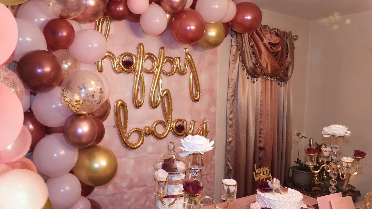 Diy Birthday Party Decorations Youtube