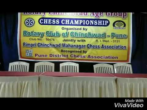 12th Rotary Chinchwad Age group Chess Championship 2017