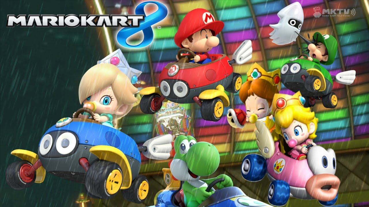 Mario Kart 8 Online Journeys Set 02 Baby Shower Youtube
