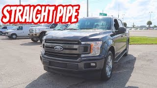 Straight Piping the 18 F150 5.0L WITH ONLY 200 MILES ON IT