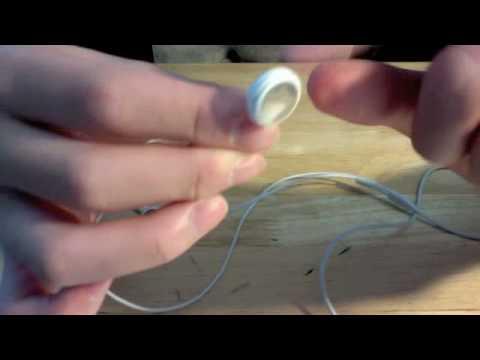TUTORIAL: How To Fix Broken Apple Earphones - YouTube