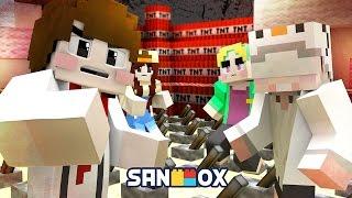 TNT 7,000개 대폭발!! 공포의 지뢰찾기 [마인크래프트 TNT 챌린지: 지뢰찾기] Minecraft - TNT Challenge - [도티]