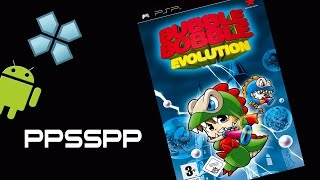 Bubble Bobble Evolution - PlayStation Portable (PSP) on Android [PPSSPP 0.9.8 Emulator]