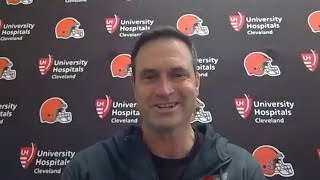 Mike Priefer Postgame Press Conference vs. Steelers | Cleveland Browns