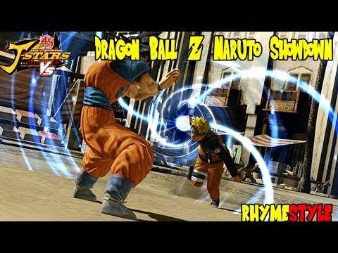 Dragon Ball Z Naruto Shippuden: Tailed Beast Bomb Spirit Bomb (J-Stars Victory ...