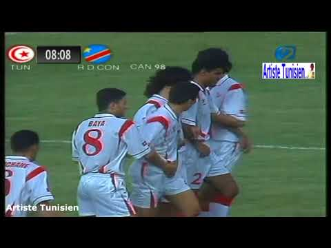 Match Complet CAN 1998 Tunisie vs RD Congo (2-1) 12-02-1998