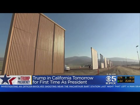 Trump Readies For First California Visit As President