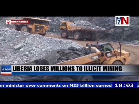Liberia Loses Millions To Illicit Mining / ANN News 10AM / May 24, 2019