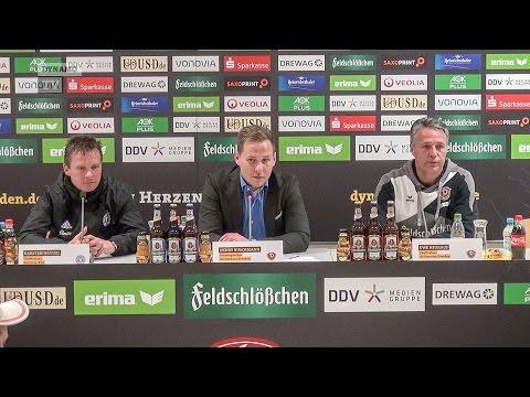33. Spieltag | SGD - KSV | Pressekonferenz nach dem Spiel