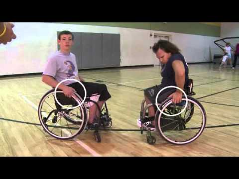 Basic Wheelchair Propulsion Youtube