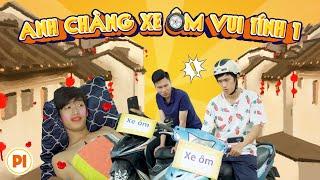 Hai Anh Chàng Xe Ôm Vui Tính | Hài Tết 2020 | Phim Tình Cảm Hài Hước Gãy TV