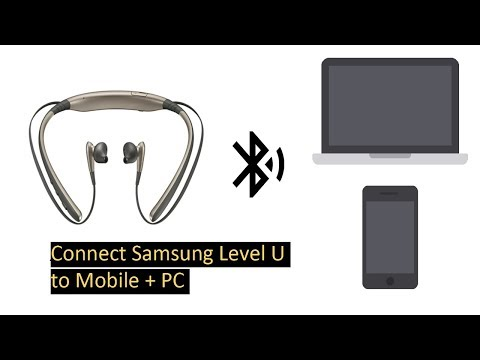 Connect Samsung Level U With Laptop Mobile 2 Device Same Time Youtube