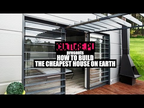 Thumbnail: How to Build the Cheapest House on Earth – Video Explainer