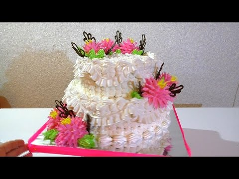 Свадебный торт Как собрать и оформить свадебный торт  A wedding cake