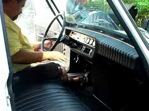 1969 renault 16 interior youtube for Renault 6 interieur