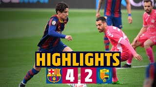 HIGHLIGHTS | Barça B 4-2 Llagostera | Collado stunner completes amazing comeback! 🔥