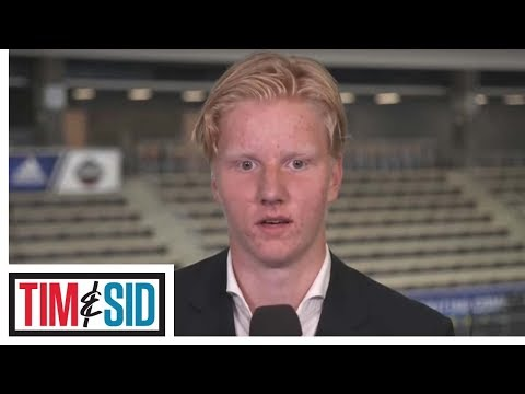 Rasmus Dahlin enjoying every day of NHL Draft process