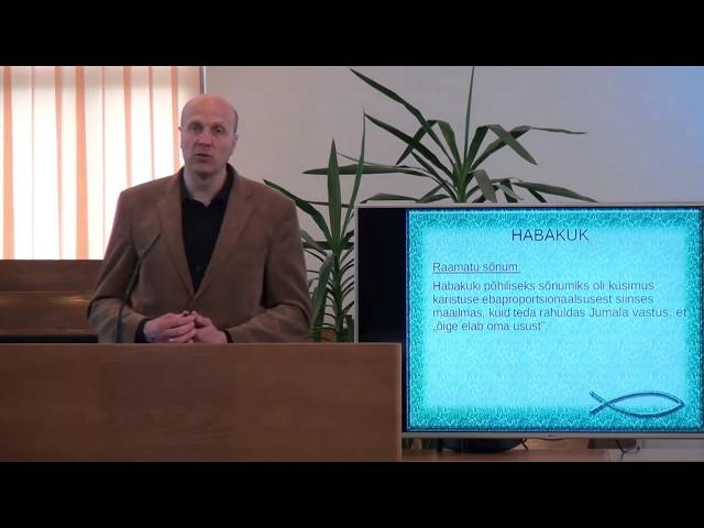 8. loeng – Habakuki raamat