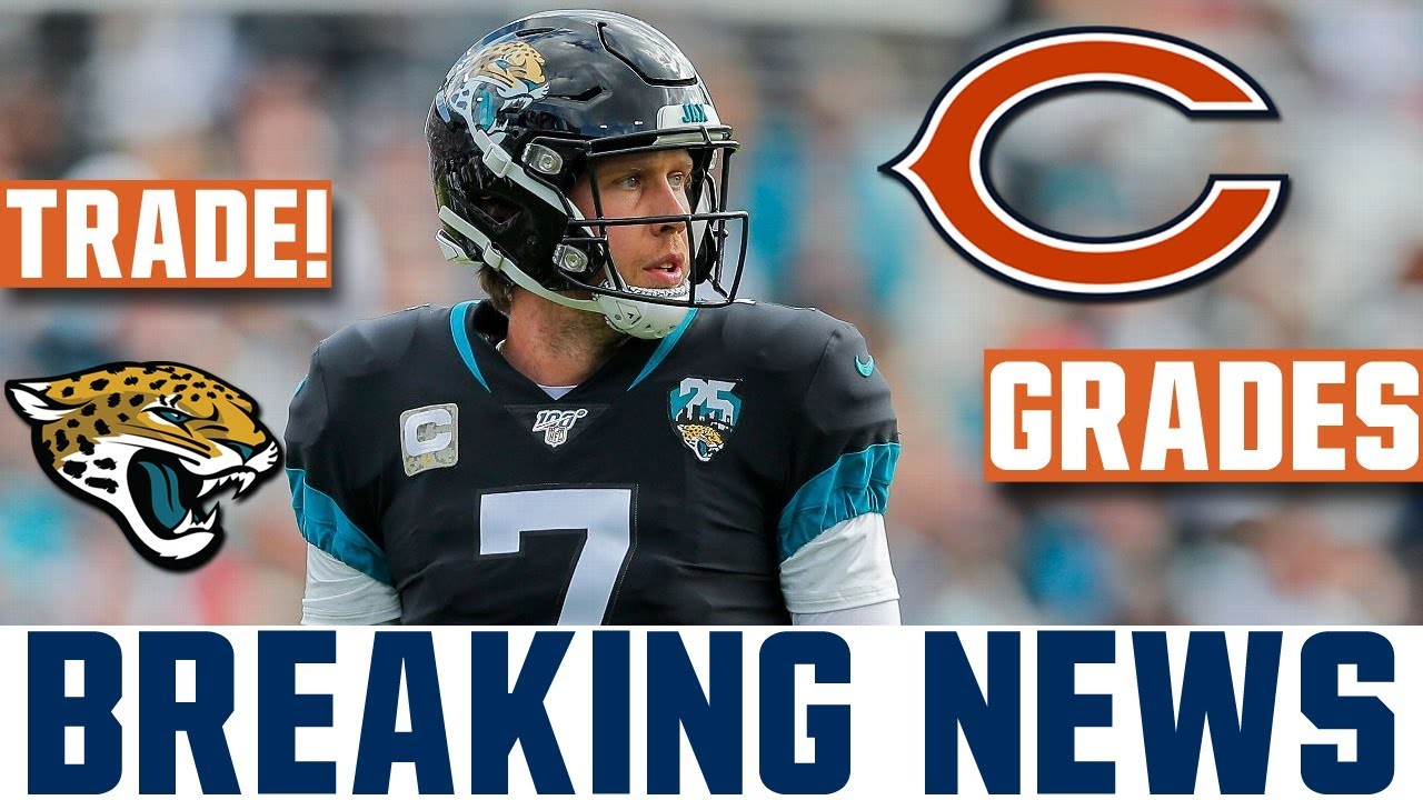 Jaguars trade Nick Foles to the Bears