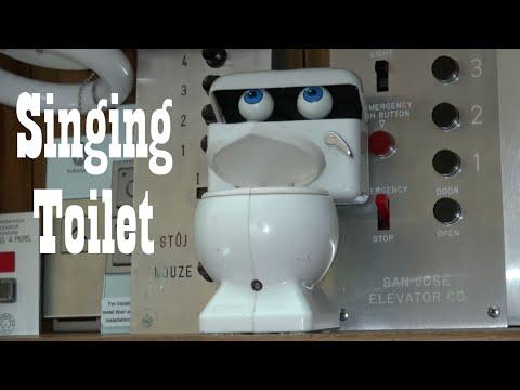 "Image result for singing toilet"""