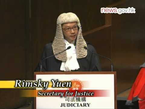 Hong Kong courts independent: CJ (14.1.2013)