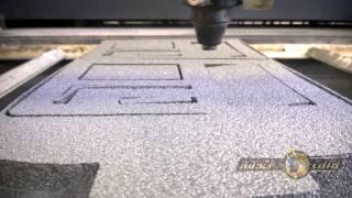 Лазерная резка поролона(В ролике показан процесс лазерной резки поролона. Технология используется для изготовления ложементов..., 2014-07-17T09:05:55.000Z)